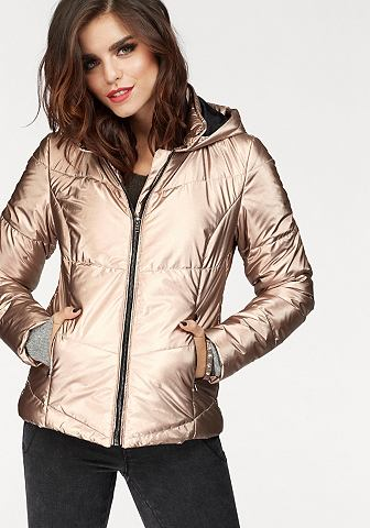 Куртка стеганая »ZOE« в Metallic стиль