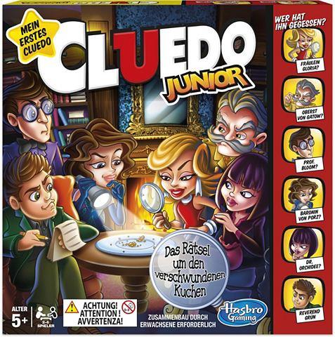 Gesellschaftsspiel »Cluedo Junio...