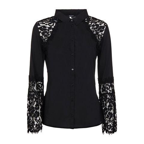 Блуза кружевные элементы