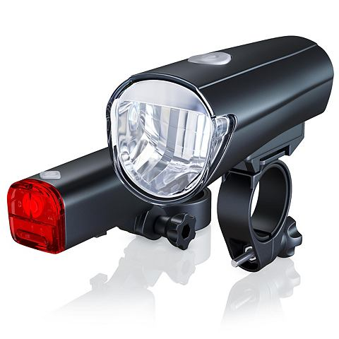 APLIC LED Fahrradlampen комплект с перед &am...