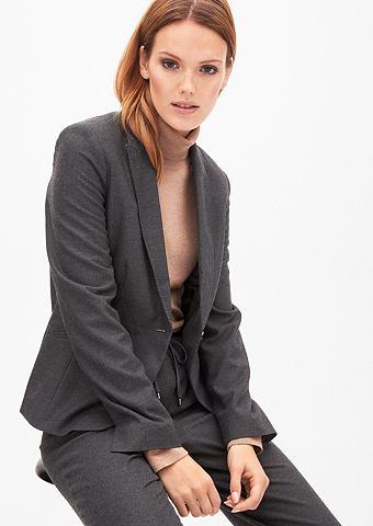 Melierter фланелевый пиджак