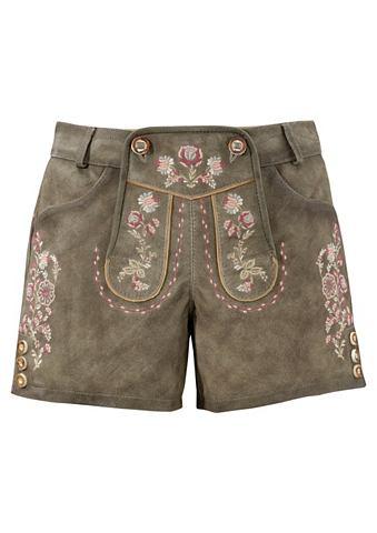 Krüger Madl брюки кожаные из наци...