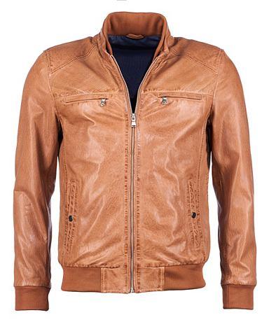 Куртка кожаная »38916«