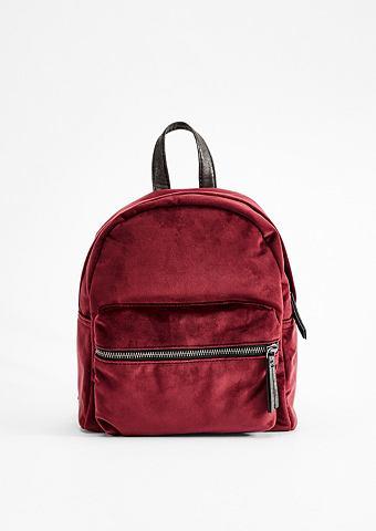 Модный рюкзак из бархат