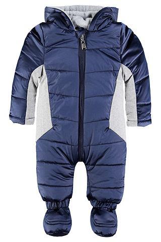 Baby костюм зимний с пятна капюшон