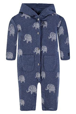 Ползунки с капюшон и карман Elefanten ...