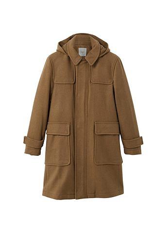 Пальто из Wolle с капюшон