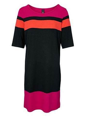 Платье с полоску