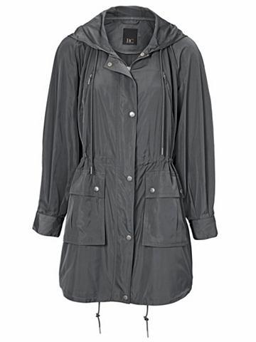 Пальто короткое с капюшон