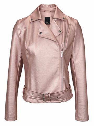 heine CASUAL Куртка из искусственной кожи с пояс