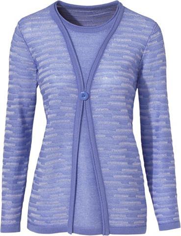 Пуловер в асимметричный покрой