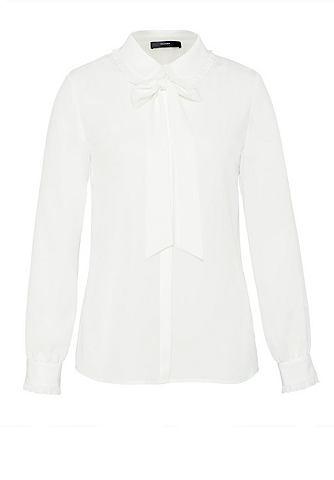 Блузка с рюшами с бант