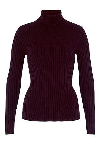Пуловер с Rippstrickmuster