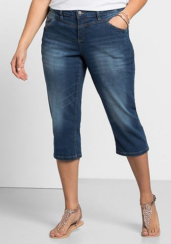 SHEEGO DENIM Sheego 3/4 джинсы