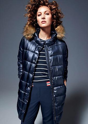 Блестящий куртка с капюшоном