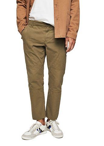 Узкий форма хлопковые брюки