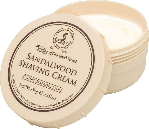 »Shaving Cream Sandalwood«...