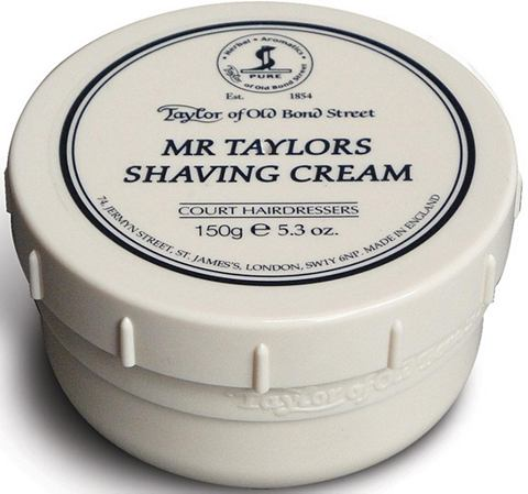 »Shaving Cream Mr Taylor« ...