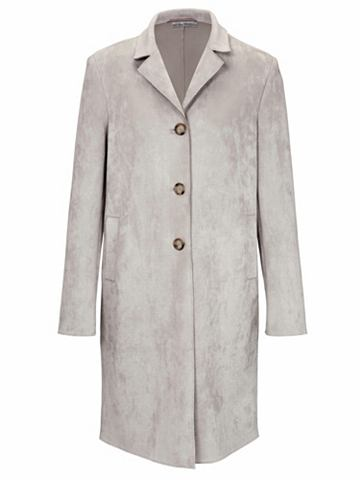 heine TIMELESS Пальто в Velourleder-Imitat