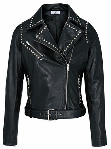 Куртка кожаная кожа ягненка Biker-Styl...
