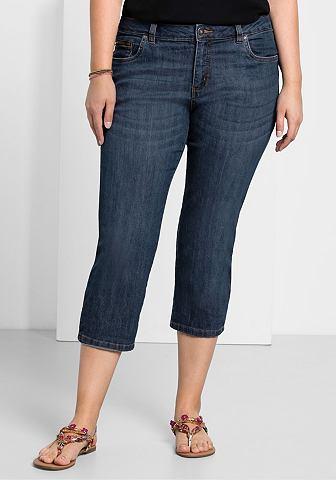 Sheego джинсы капри джинсы
