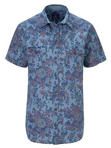 Рубашка джинсовая в Used-Look