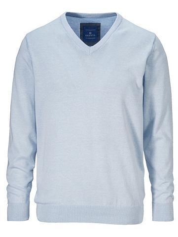 Пуловер в сдержанный Melange-Optik