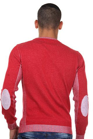Пуловер с круглым вырезом узкий форма
