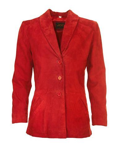 Пиджак кожаный расклешенный »Bre...