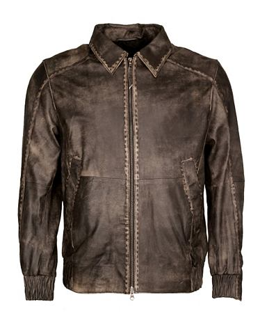 JCC Куртка кожаная в в винтажном стиле &ra...