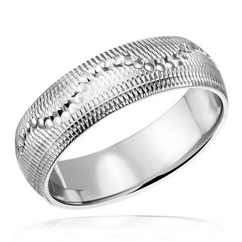 Кольцо Comfort форма кольцо 925/- Wave...