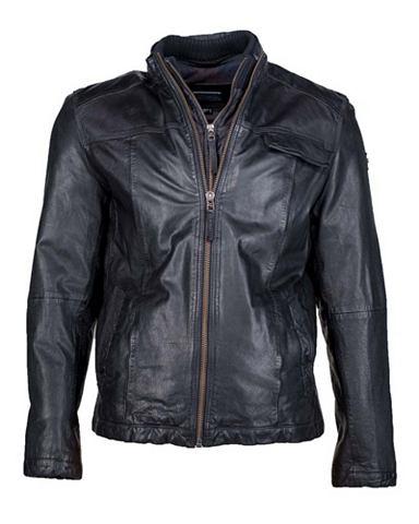 Куртка кожаная - elegant & sportli...