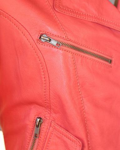 Куртка кожаная для женсщин 114739