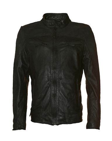 TOM TAILOR Куртка кожаная с деликатный форма &raq...
