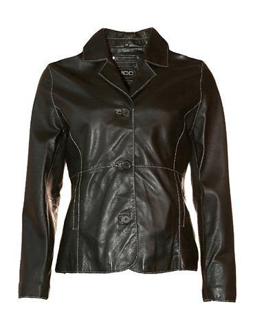 Пиджак кожаный для женсщин Manda