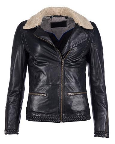 Куртка кожаная для женсщин 16-18