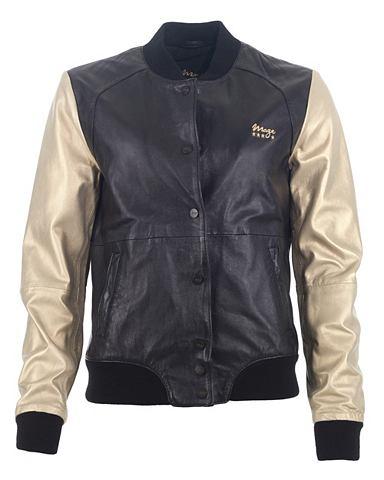 MAZE Куртка кожаная Herren Sita