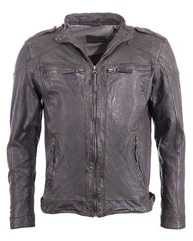 Куртка кожаная »6010017«