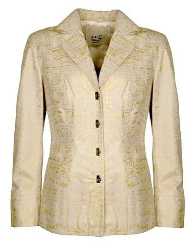 Пиджак кожаный для женсщин Cally