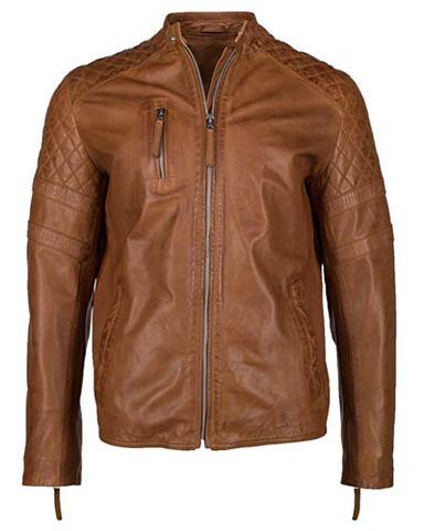 Куртка кожаная с dezenten Highlights &...