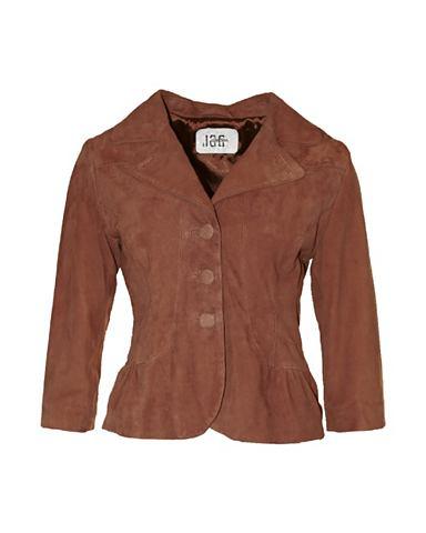 Пиджак кожаный с красивый воротник &ra...