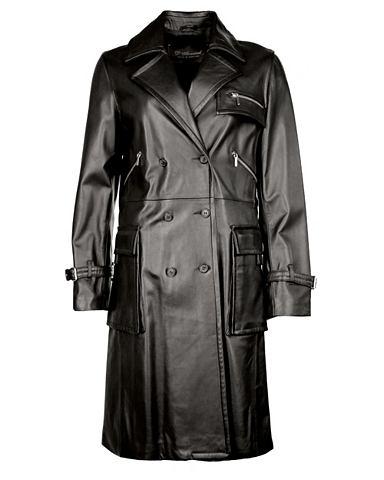 Пальто кожаное »Mascia«