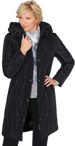 Пальто с streckendem Steppmuster повто...