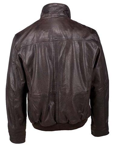 Куртка кожаная с Strickeinsatz Herren ...