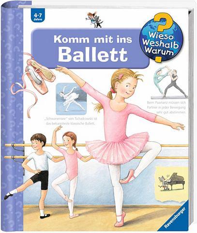 RAVENSBURGER Детская книга »Komm с ins Ballet...