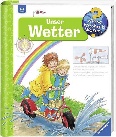 RAVENSBURGER Детская книга »Unser Wetter / Wi...