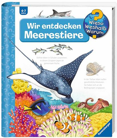 RAVENSBURGER Детская книга »Wir entdecken Mee...