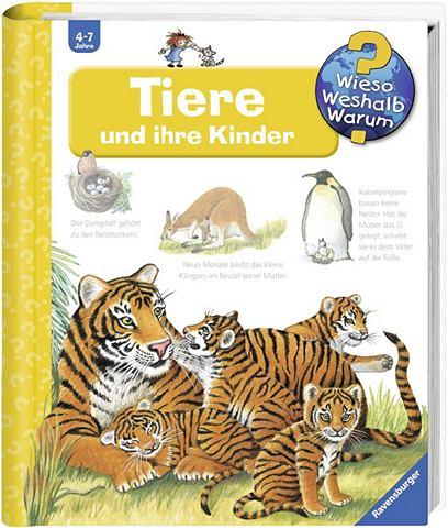 RAVENSBURGER Детская книга »Tiere и ihre детс...