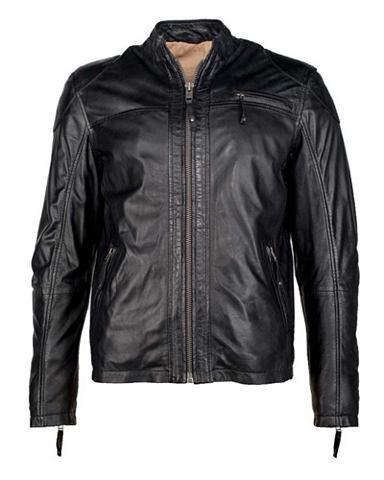 Куртка кожаная Herren Posam2
