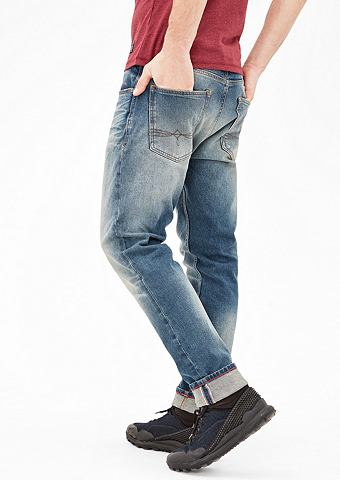 Tubc Tapered Regular: джинсы потертые